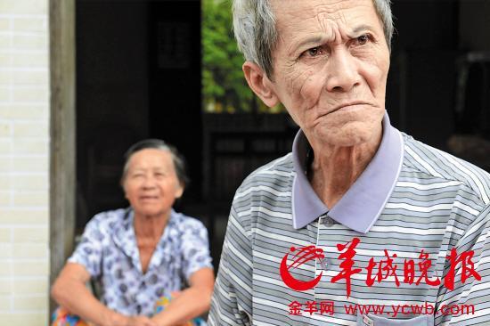 符福山和相依为命的老伴
