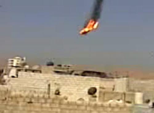 叙反对派武装称用机枪击落一架政府军战机