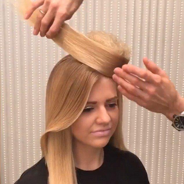 """俄罗斯女发型师用头发打造""""礼帽""""走红"""