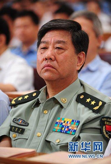 刘亚洲等6位高级军官警官晋升上将军衔警衔