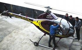 湖南一小伙180万买回直升机 驾照费至少15万