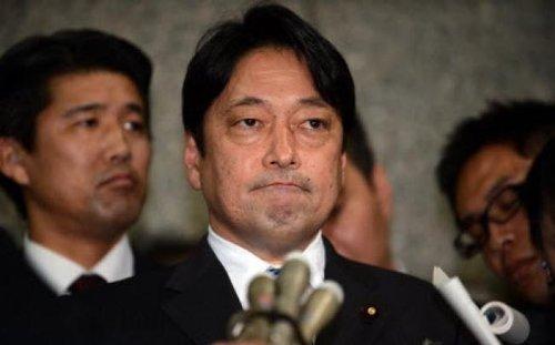 日本防卫大臣小野寺五典(资料图)