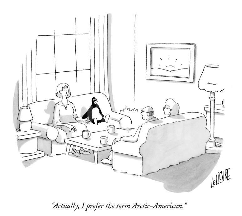出错的企鹅漫画。
