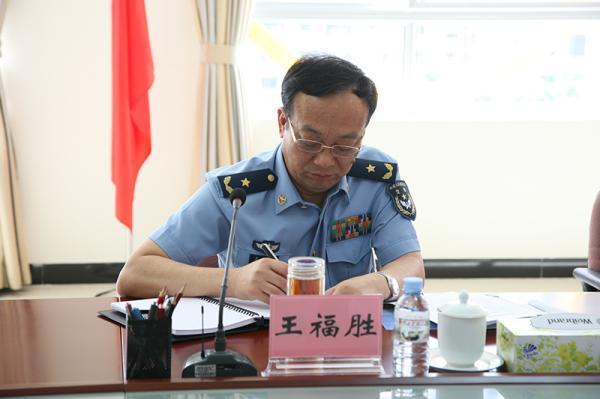 王福胜少将任南部战区空军政治工作部主任