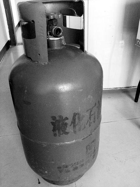 由于客户押金条丢失,并要求退回煤气罐,经过自己从中协调,客户已经