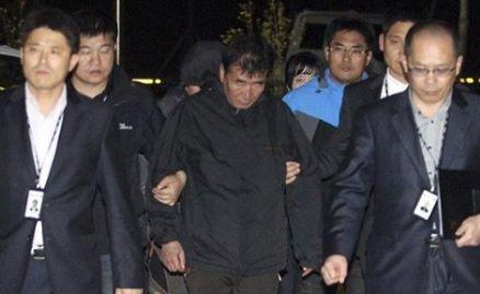 韩客轮翻沉已致29人遇难 逃跑船长或被判无期