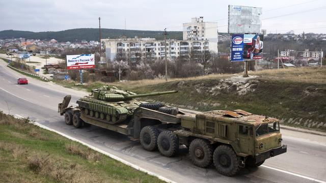 普京下令克里米亚向乌克兰交还被缴获武器