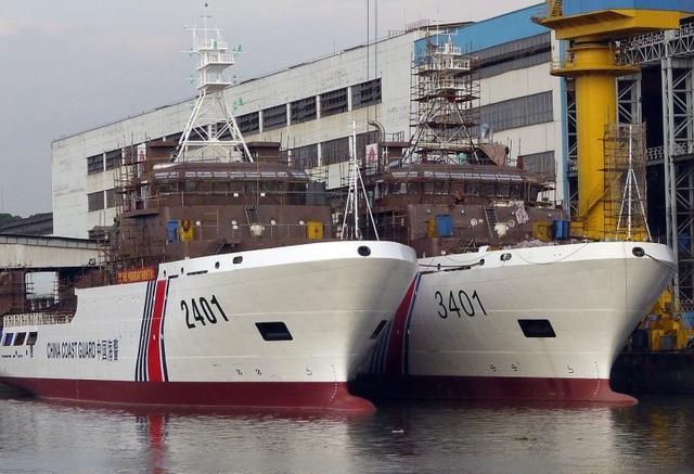 中国打造世界最强执法船队 规模将达日本3倍