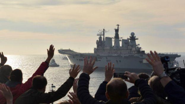 英国服役32年航母被当废品出售 200万平沽土耳其