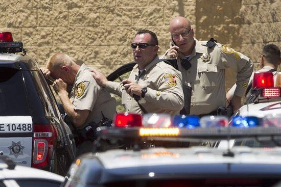 美国拉斯维加斯发生枪击案3人被射杀2嫌犯自尽