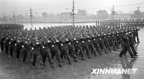 盘点建国以来14次大阅兵的珍贵照片