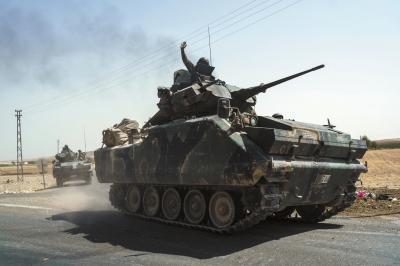 土耳其出兵叙利亚:打击IS为辅 意在库尔德武装