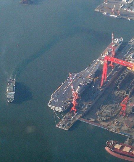 外媒称中国航母未装战机着舰拦阻装置 俄方拒售
