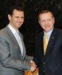 巴沙尔会见土耳其总理埃尔多安