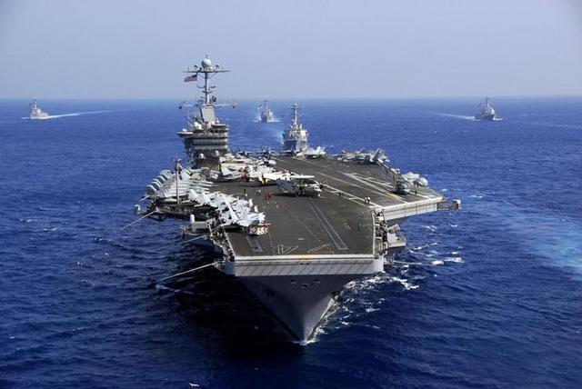 美军2艘航母离开日本海 将灵活应对朝鲜半岛局势变化
