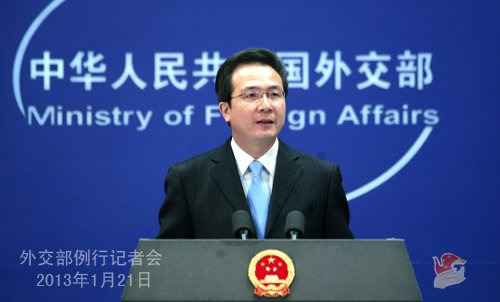 外交部回应准备为钓鱼岛一战说法:主张对话解决