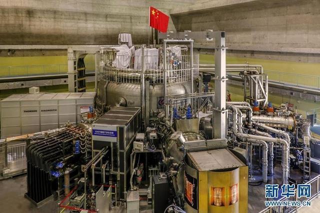 """中国新一代""""人造太阳""""核聚变实验装置再获重大突破"""