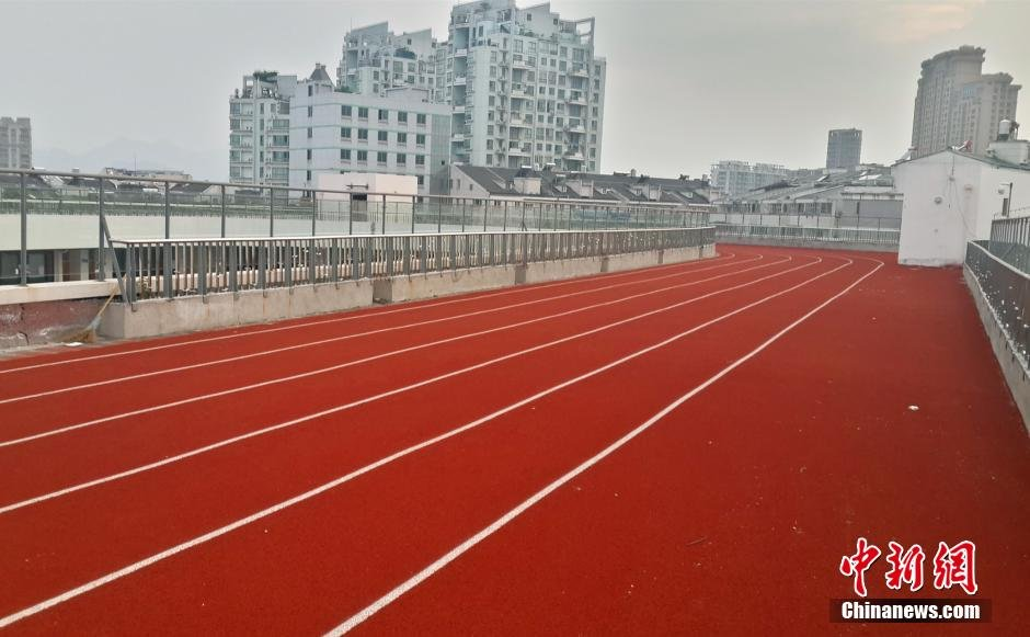 浙江天台一小学建成中国首个空中操场2014.9.2 - fpdlgswmx - fpdlgswmx的博客