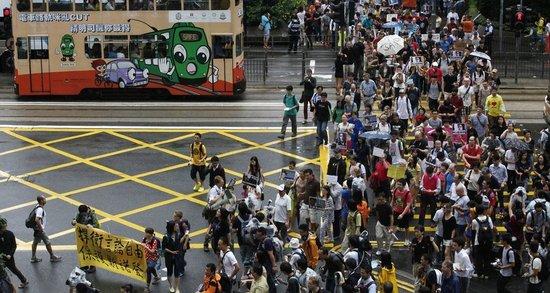 半数港人反对遣返斯诺登 外媒称中国仍保持沉默