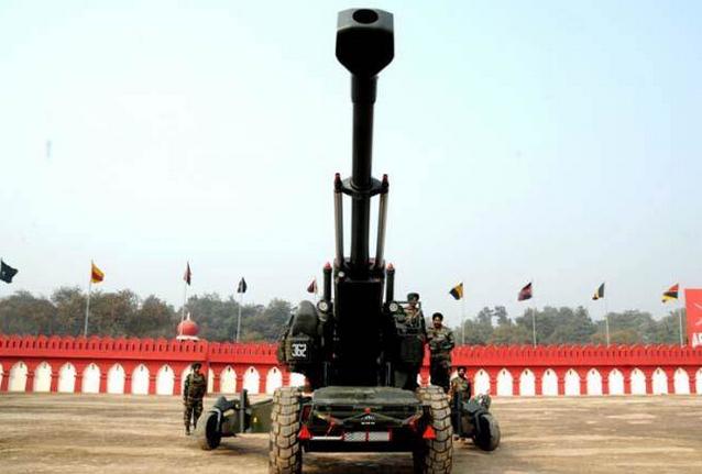 印度国产榴弹炮3次试射失败 投入日期延后