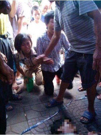 湖南郴州城管被曝打死小贩 当地介入调查(图)