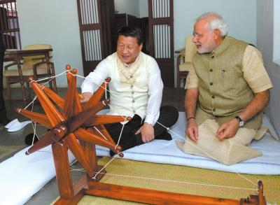习近平:管控好争议 不使边界问题影响中印关系