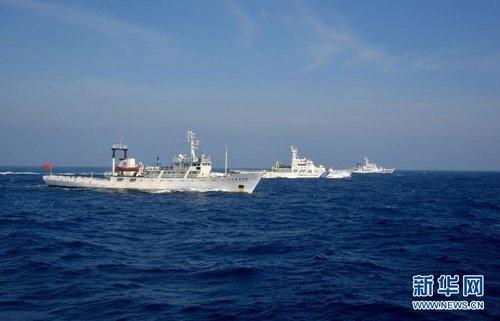中国渔政突破钓鱼岛12海里正式对日发起挑战