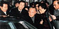 1991年邓小平视察上海大众