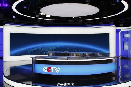 央视《午夜新闻》在新址首播 展示新演播室