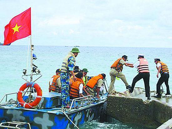 越菲搞南沙运动会秀团结 指责中国违法行为丑陋