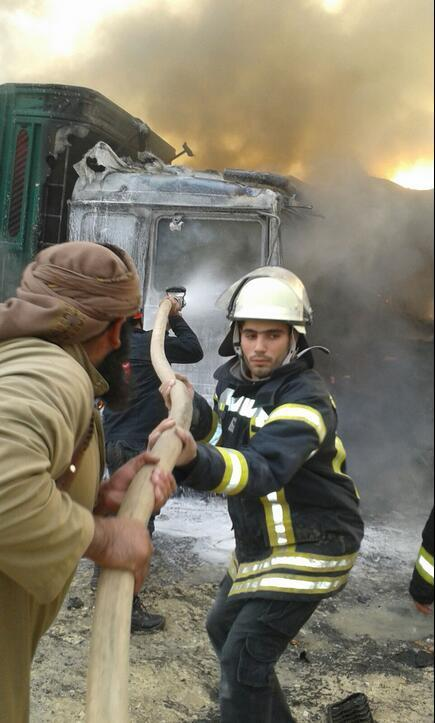 土耳其媒体:俄军空袭炸毁土耳其救援车队