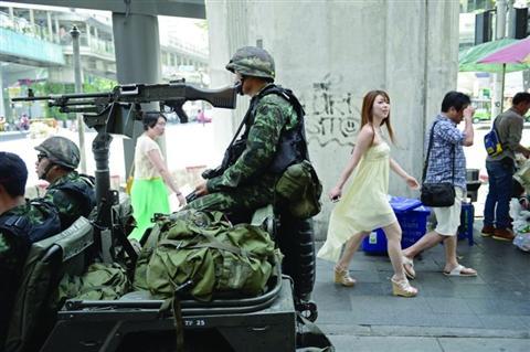 美国因泰军接管政权宣布中止350万美元军援