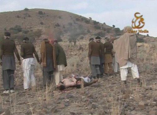 展示了17名被斩首的巴基斯坦士兵的人头