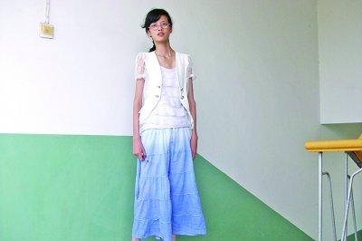 14岁体重患怪病:课件1米71身高仅37公斤(图)小学教育女孩ppt图片