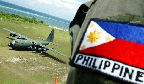 菲律宾增兵南沙中业岛 加强对南海7座岛屿掌控