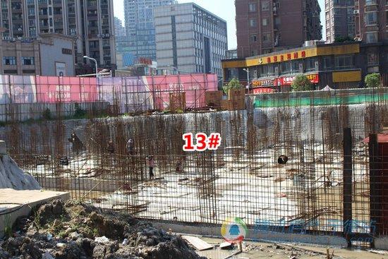 怡和嘉园二期--御园建设如火如荼 万达旁营销中心7.2盛放