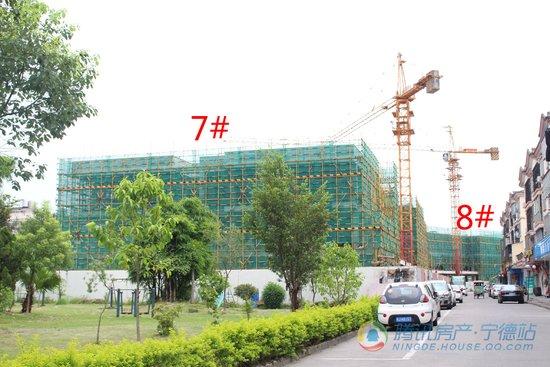 实拍:备受瞩目的逸涛东湖臻悦考拉公馆已建至地面2层