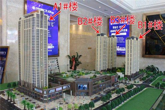 宁德大润发国际广场101公馆  35-57㎡精致户型抢先看!