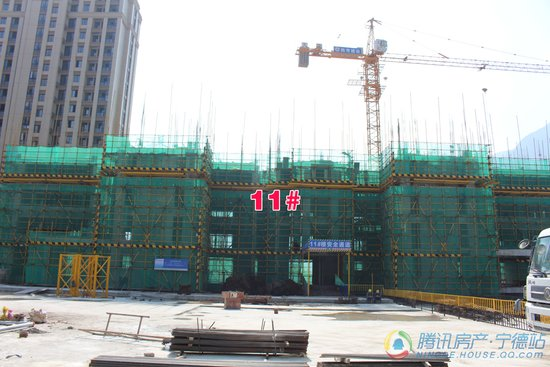 【踩盘速报】三盛中央公园二期最新建设进度实拍一览