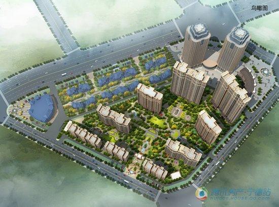 龙威经贸广场二期央景最新建设进度实拍 首推在即