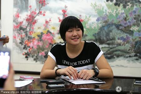 叶诗文是清华大学自主招生的典型