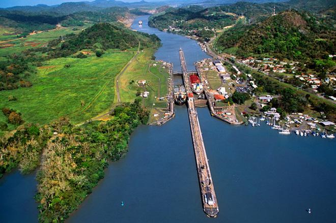 巴拿马运河也在扩建