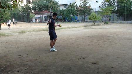 李娜在华科时经常去训练的东网球场(图:徐思佳)