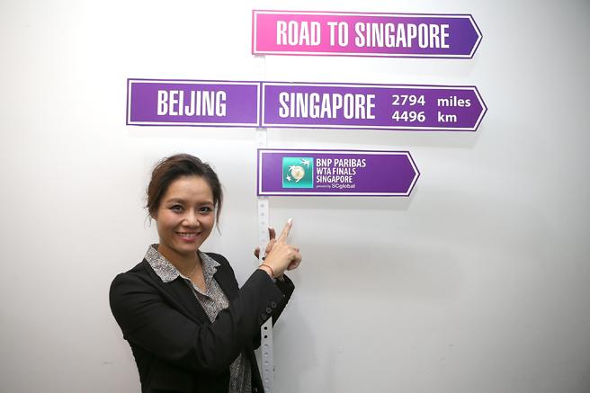 李娜担任今年的WTA总决赛官方大使