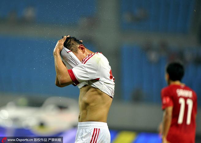 去年的6・15惨败,是中国足球永远的痛