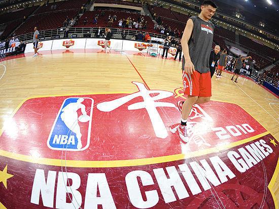 NBA中国赛走过10年,各种变化超乎想像