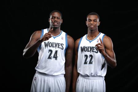 本内特和维金斯欲在森林狼为状元正名