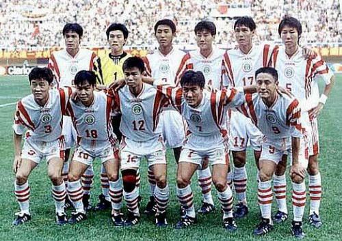 1997年十强赛那支国足队员都有着鲜明的特点