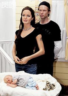 洛希是杜莎蜡像馆中第一个婴儿