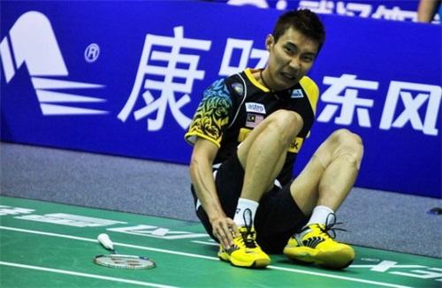 李宗伟近年来饱受脚踝伤病折磨